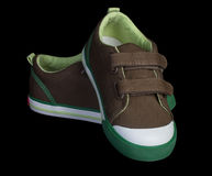Toddler sneakers Stock Images