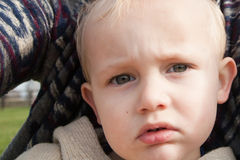 Toddler With Striking Eyes Royalty Free Stock Photography