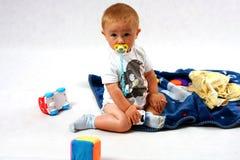 Toddler in the studio Stock Image