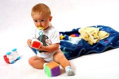 Toddler in the studio Stock Photo