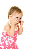 Toddler with Sunglasses Royalty Free Stock Photography