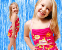 Toddler Swimwear Royalty Free Stock Image