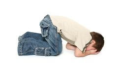 Toddler Tantrum stock images