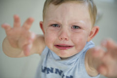 Toddler tantrum! Royalty Free Stock Photography