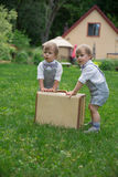 Toddler Twins Stock Photography