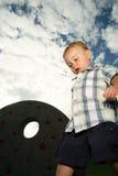 Toddler walking Royalty Free Stock Photography