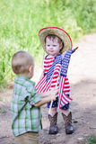 Toddlers in play Royalty Free Stock Photography