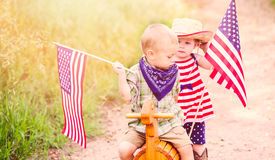 Toddlers in play Stock Images