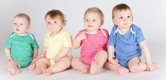 Toddlers Stock Photography
