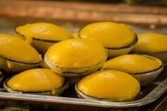 Toddy de palmcake is een traditioneel Thais dessert royalty-vrije stock afbeeldingen