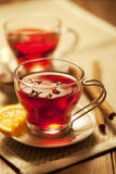 Toddy or mulled wine Stock Photos