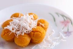 Toddy Palm Cake (Kanom Tarn) Fotografia de Stock