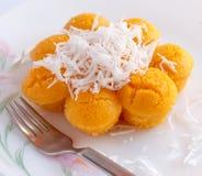 Toddy Palm Cake (Kanom Tarn) Fotos de Stock Royalty Free