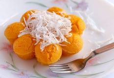 Toddy Palm Cake (Kanom Tarn) Imagem de Stock