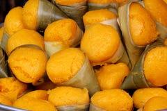 Toddypalmen-Kuchen Thailand-Nachtisch Stockbild