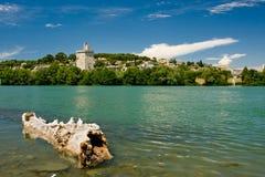 Todes-LOGON-Wasser von Rhône Lizenzfreie Stockbilder