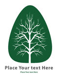 Todesbaumsymbol lizenzfreie abbildung