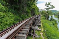 Todeseisenbahn Stockfotografie