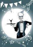 Todesserie - lassen Sie uns party! Lizenzfreies Stockbild