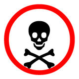 Todessymbol Lizenzfreies Stockbild