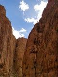 Todgha峡谷,摩洛哥惊人视图  图库摄影