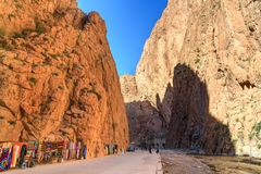 Todgha Gorge in Morocco Stock Images