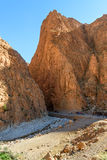 Todgha Gorge in Morocco Royalty Free Stock Image