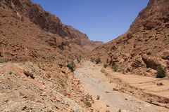 Todgha Gorge, Morocco stock image