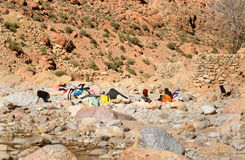 Todgha Gorge in Morocco Royalty Free Stock Photo