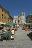 Todi,翁布里亚,意大利 免版税库存图片