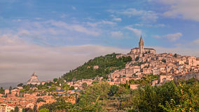 Todi, Úmbria, Itália Imagem de Stock Royalty Free