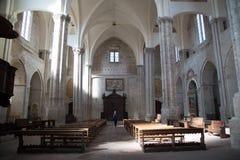 Todi medeltida stad i Italien Royaltyfri Foto