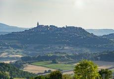 Todi pejzaż miejski w Włochy Fotografia Royalty Free