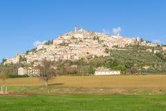 Todi, Umbrië, Italië Royalty-vrije Stock Fotografie