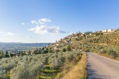 Todi, Umbrië, Italië Royalty-vrije Stock Foto