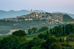 Todi & x28;Umbria Italy& x29; Stock Image