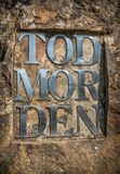 Todmorden Sign Stock Images