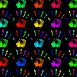 Todo el espectro de cortinas Imágenes de archivo libres de regalías