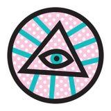 Todo el ojo de Seeign Fotografía de archivo libre de regalías
