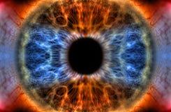 Todo el ojo que ve ilustración del vector