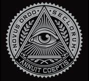 Todo el vector del ojo que ve