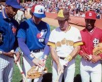 Todo-estrellas de la liga nacional Imagen de archivo libre de regalías