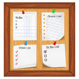 ToDo List and Check List Royalty Free Stock Images