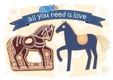 Todo lo que usted necesita es amor fotografía de archivo libre de regalías