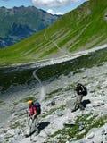 Todo o esporte das idades: trekking Fotografia de Stock