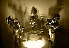 Todo o jazz de Dat Fotografia de Stock