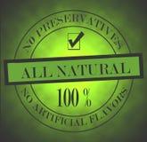 Todo o selo natural Foto de Stock Royalty Free