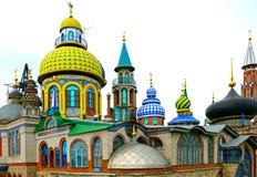 Todo o templo das religiões imagem de stock
