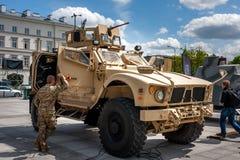 Todo o veículo de Oshkosh M-ATV do terreno Imagem de Stock