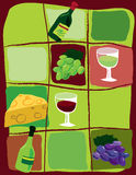 Todo sobre el vino Imagen de archivo